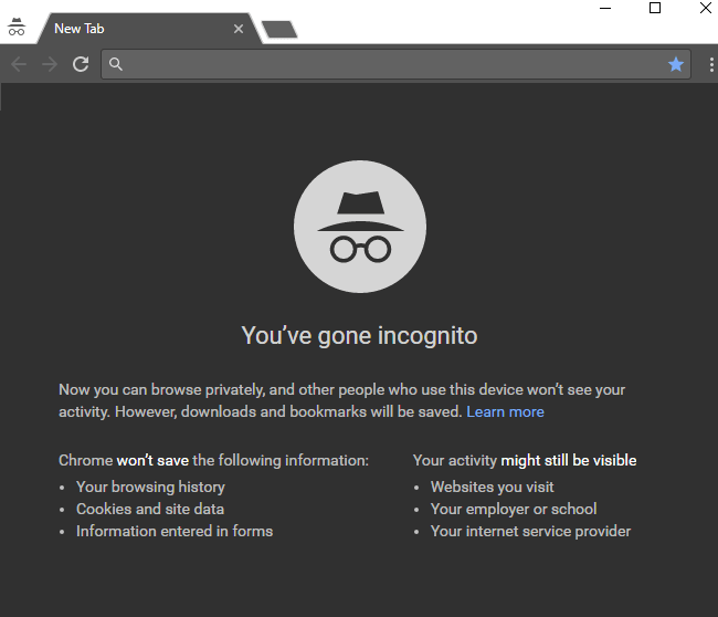 Open Chrome Directly into Incognito Mode | ByteNbit