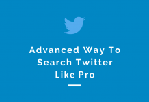 An advanced way to search Twitter like a pro