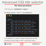 CSS selector for best practices